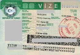 Как сделать рабочую визу для турции 362