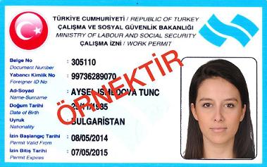Как сделать рабочую визу для турции